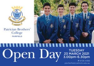 Patrician Brothers Fairfield Open Day_webimage